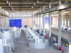 Bể chứa inox bảo quản trong kho hàng